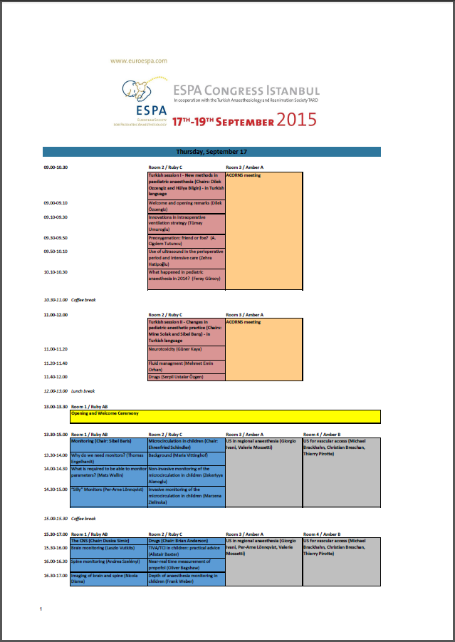 ESPA_Scientific Programme